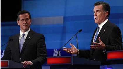 In a late-night email, Santorum endorses Romney